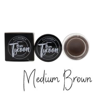 BrowTycoon Pomade Medium Brown 1